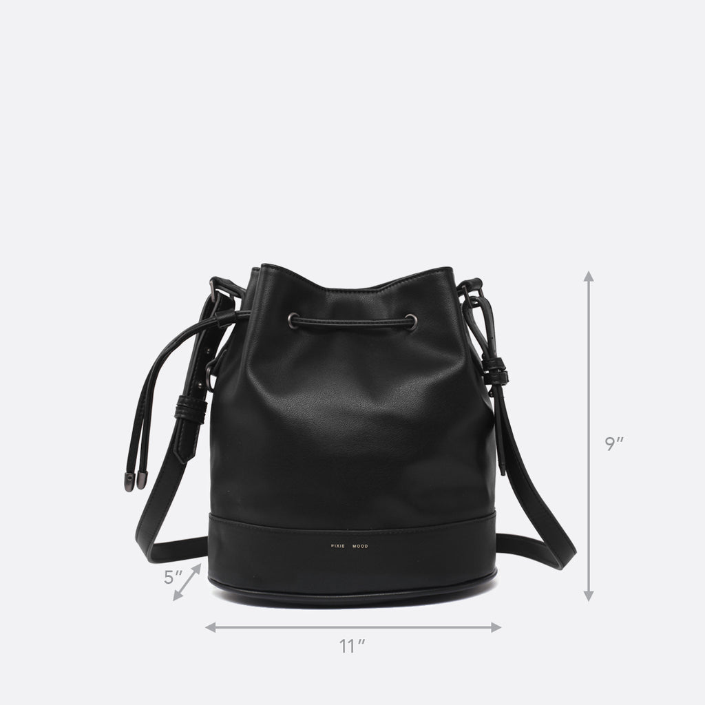Amber Bucket Bag - Black