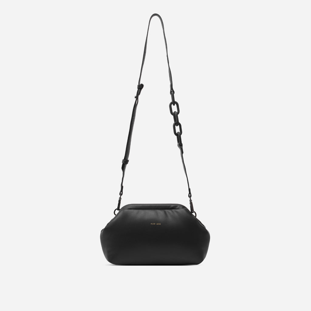 Bubbly Crossbody/Clutch - Black