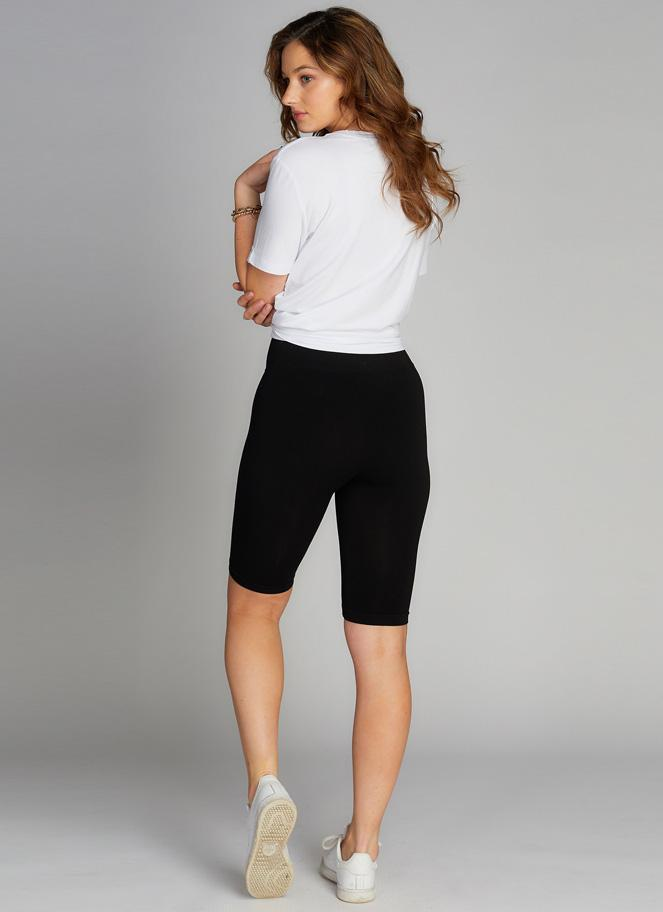 High Waisted Bike Short - Black