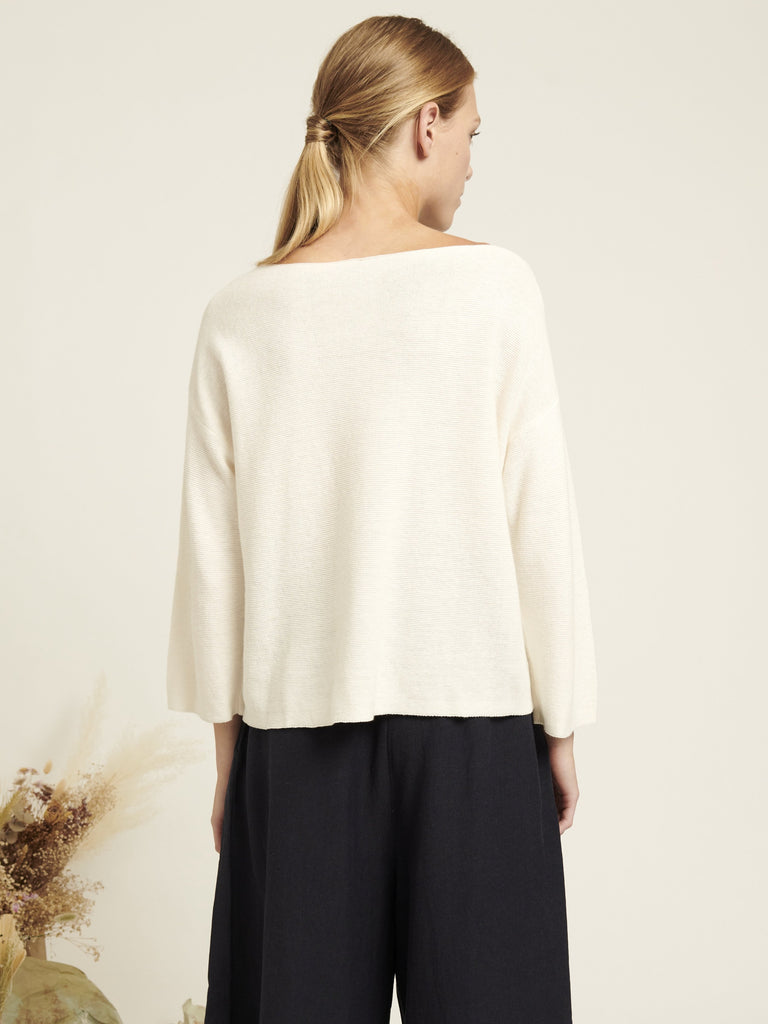 Dalia Sweater - Ecru