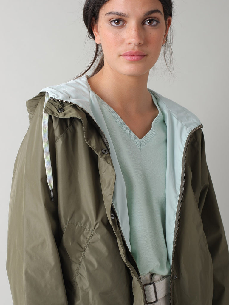 Callie Reversible Jacket - Khaki