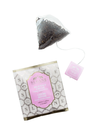 Tea Sachet Box, Heavenly Cream
