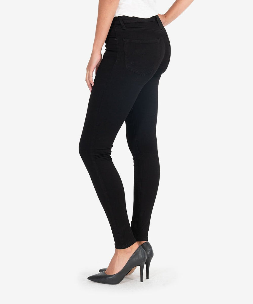 Mia High-Waisted Skinny - Black