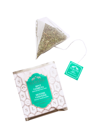 Tea Sachet Box, Mint Verbena