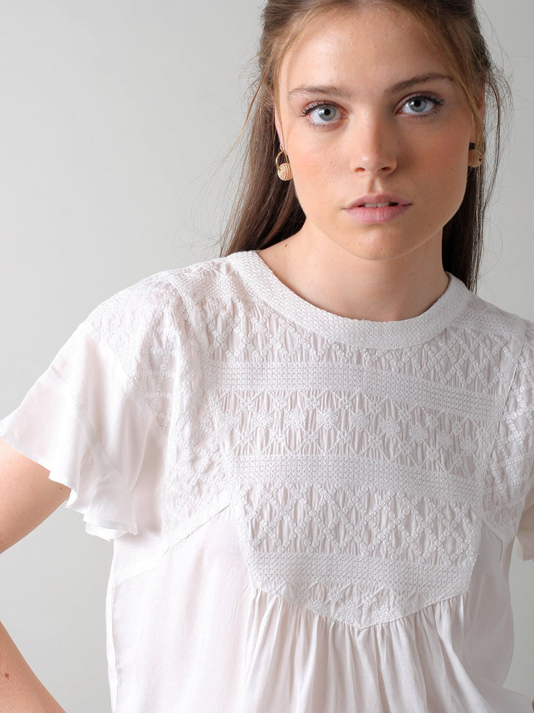 Phillipa Top - Ivory