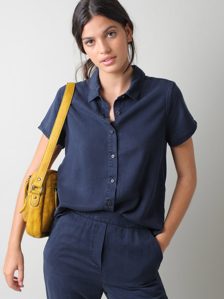 Nicola Top - Navy