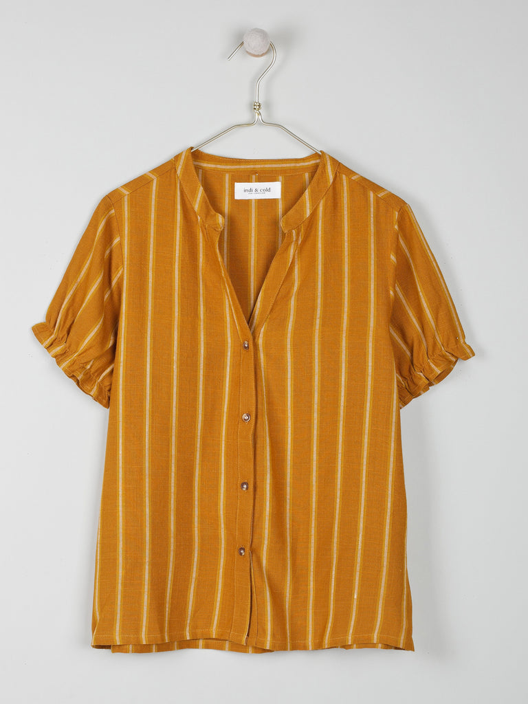 Patty Top - Amber Stripe