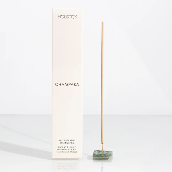 Champaka Essential Oil Incense & Holder