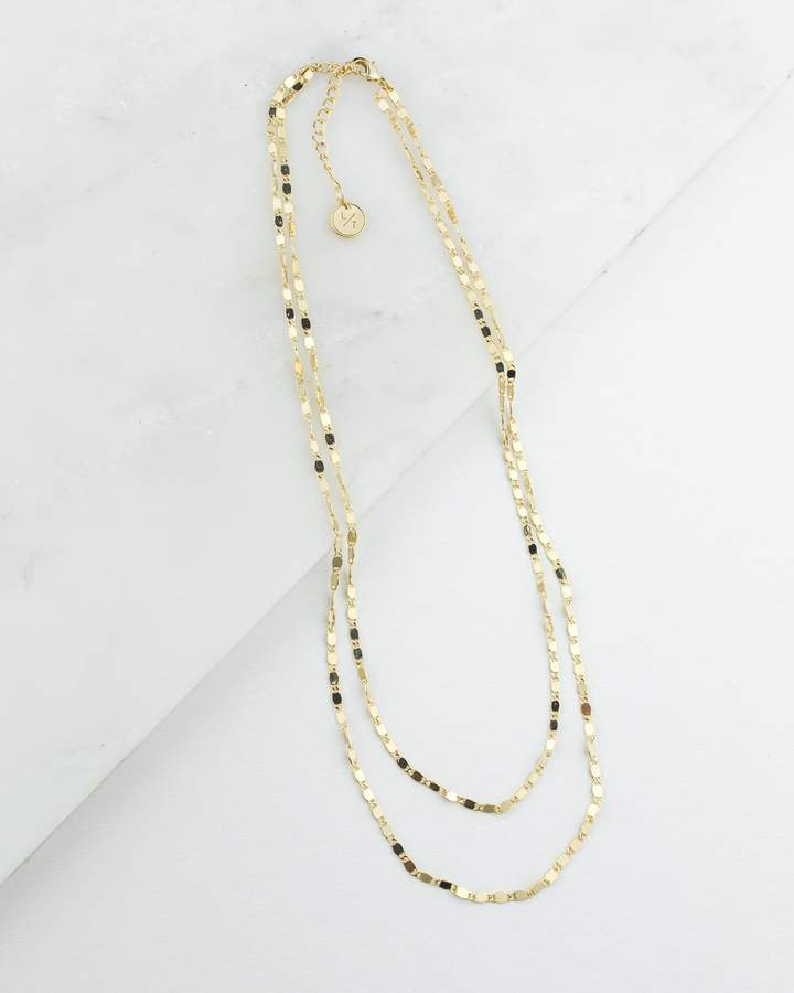 Cleo Layered Necklace - Gold