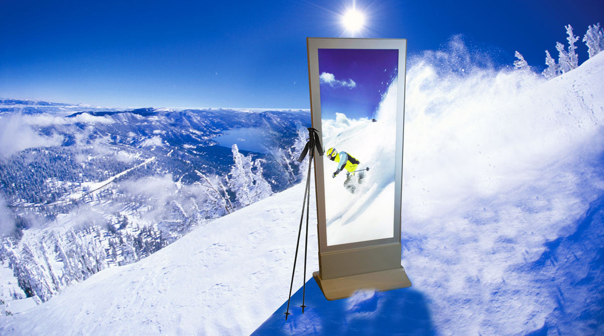 Sign Imports Portable LED Light Box - Ski