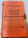DAUGHTER MOM - FOLLOW YOUR DREAMS - SENIOR 2020 - VINTAGE JOURNAL - Family Hub Co.