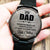 To My Dad - Ugly Children - Wood Watch - Family Hub Co.