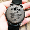 To My Dad - Wood Watch - DW11 - Family Hub Co.