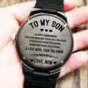 To My Son - Wood Watch - SW05 - Family Hub Co.