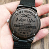 To My Husband - Wood Watch - HW04