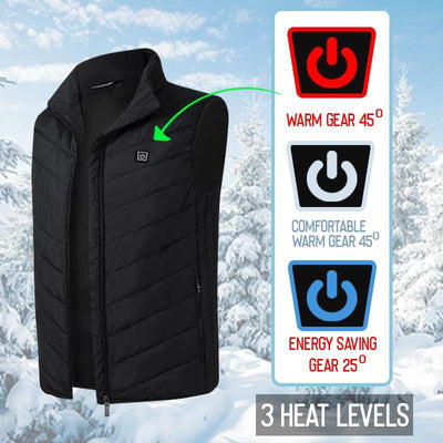 Unisex Warming Heated Vest - PERFECT CHRISTMAS GIFT