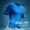 Garish Pigs | 4 Color Breathable Seamless Instant Cooling Men T-shirt