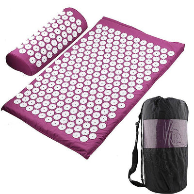 Thera™ Massage Mat & Pillow Set