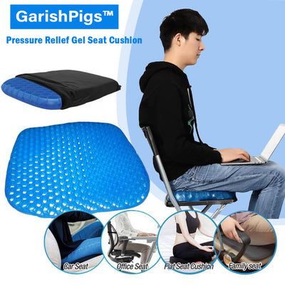 GarishPigs™ Pressure Relief Gel Seat Cushion