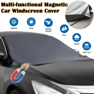 Multi-functional Magnetic Car Windscreen Cover