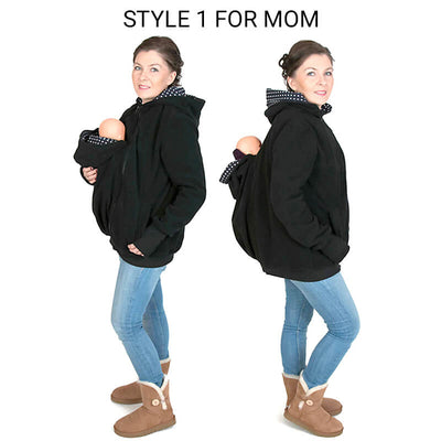 GP™ Super Kangaroo Hoodie For Mom & Dad