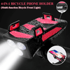 GP™ 4-in-1 Bicycle Phone Holder (Multi-function Bicycle Front Light)