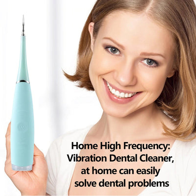 Ultrasonic Tooth Cleaner & Plaque Remover