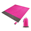 Garish Pigs | Giant Pocket Sand Free Beach Mat - Outdoor And Picnic Mat