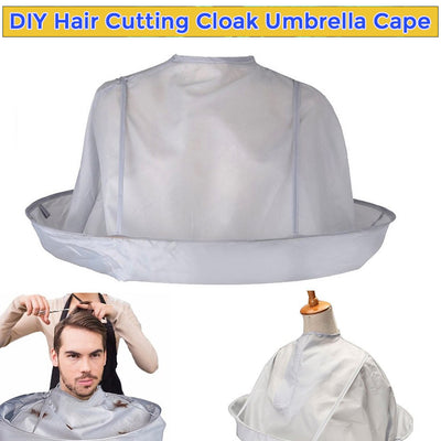 DIY Hair Cutting Cloak Umbrella Cape