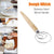 Multi-purposes Non-stick Dough Whisk