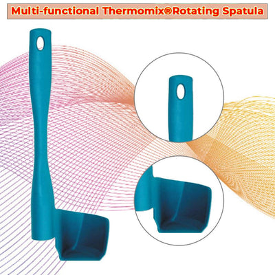 Multi-functional Thermomix Rotating Spatula