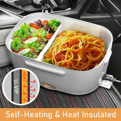 GarishPig™ 2 in 1 Portable Heated Electric Lunch Box
