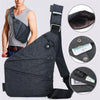 Men Multi-functional Anti-theft Chest Bag