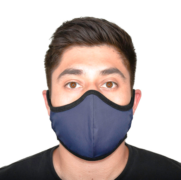 JaneCare Cloth Mask - Navy Blue