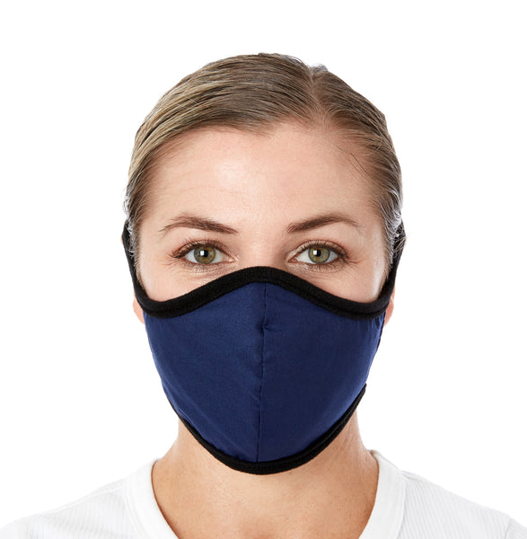 JaneCare Cloth Mask - 5 Pack - Navy Blue