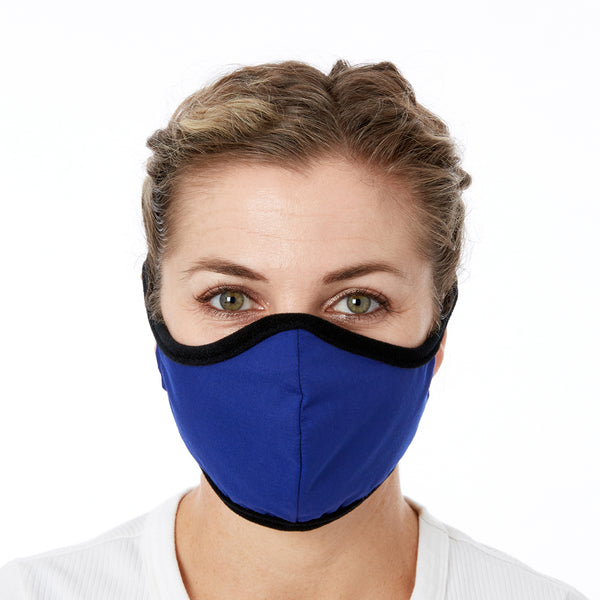 JaneCare Cloth Mask - 5 Pack - Royal Blue
