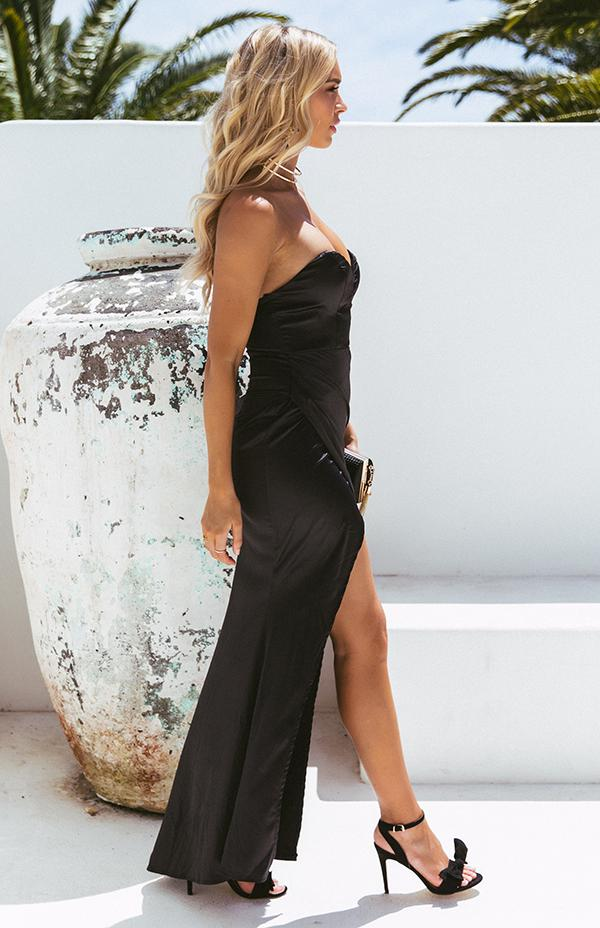 ALYSSA MAXI - BLACK