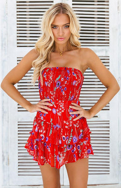 DENTELLA PLAYSUIT