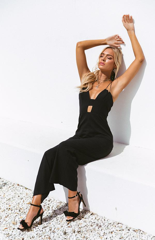 TURNER JUMPSUIT - BLACK