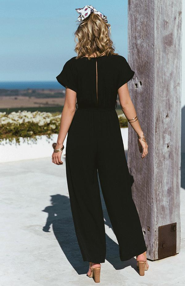 PATRICIA JUMPSUIT - BLACK