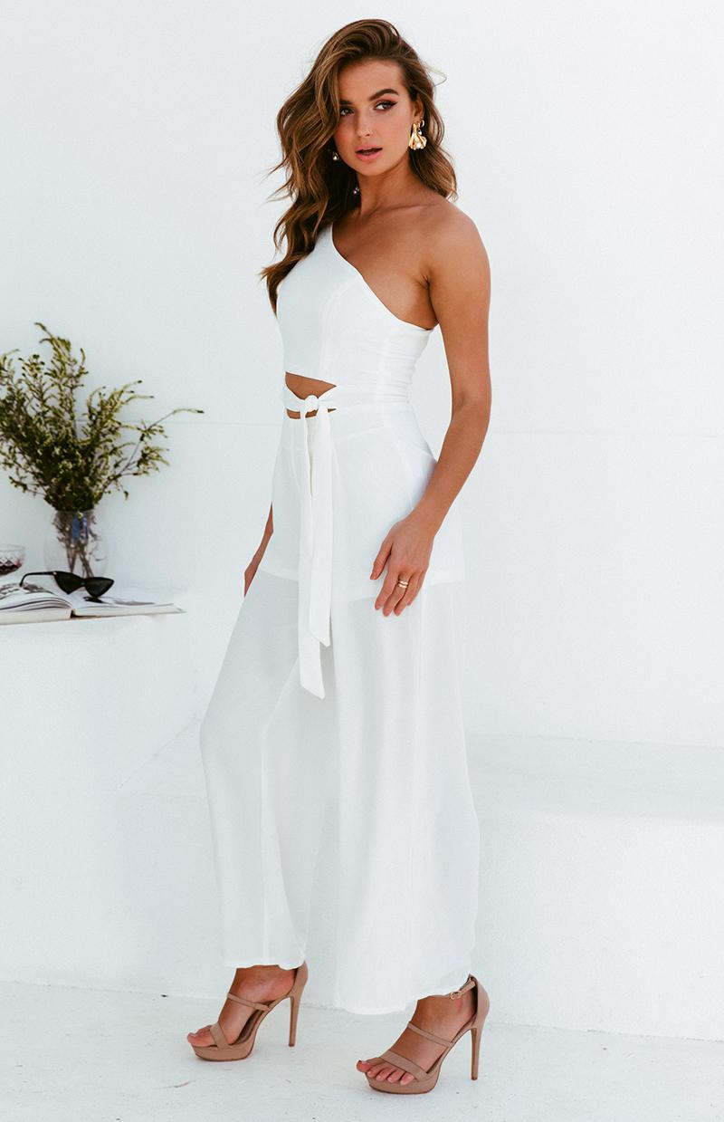 MEERA JUMPSUIT - WHITE