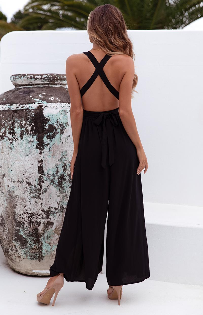 COOKIE JUMPSUIT - BLACK