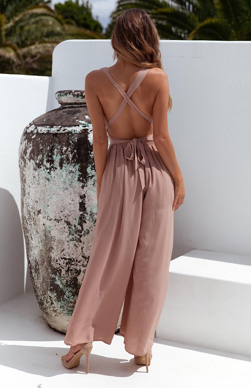 COOKIE JUMPSUIT - MOCHA