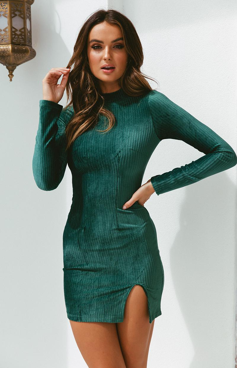 SMITH DRESS - EMERALD