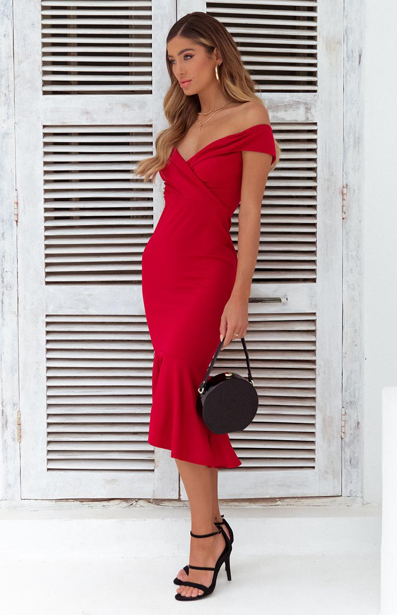CERES DRESS - RED