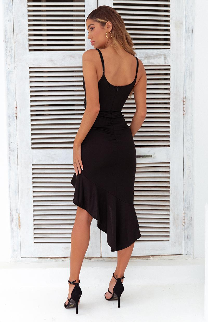 TEGAN DRESS - BLACK