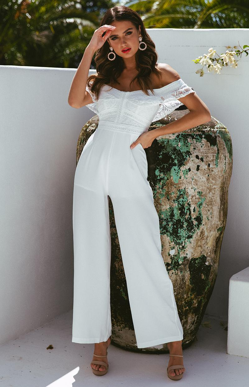 ANDERSON JUMPSUIT - WHITE