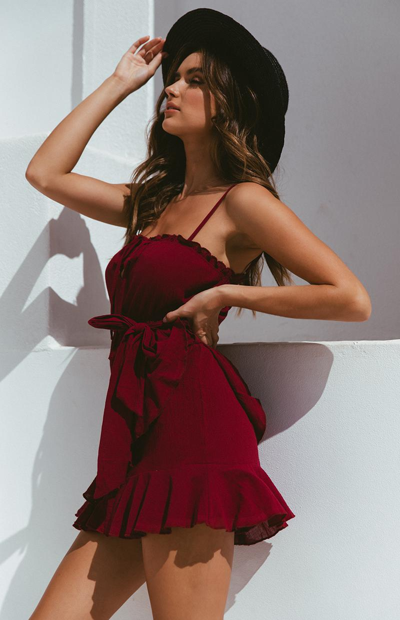 POETRY DRESS - WINE