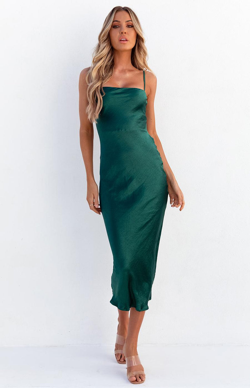 ANDY DRESS - EMERALD