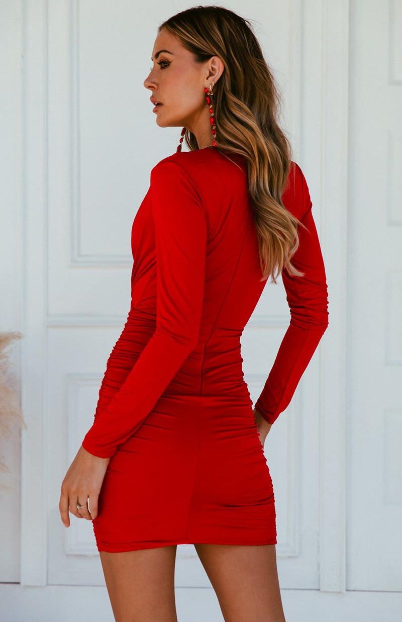 SARAI DRESS - RED